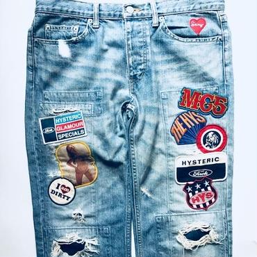 "くらぶセクシー ""custom denim pants web store limited version"