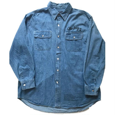 "ClubSexy ""Motorcycle boys edition "" custom denim work shirts"