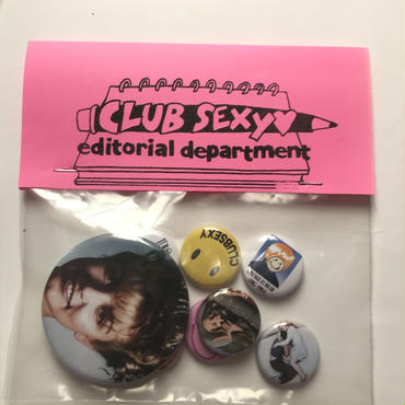 """Club Sexy """"My Favorite Button Badges """""""