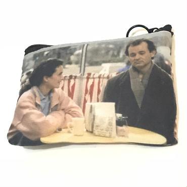"besidethebag  ""恋はデジャブ"" mini pouch"