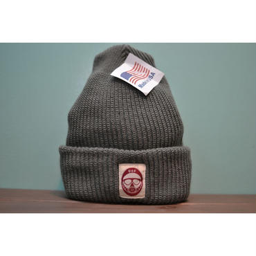 DSF LOGO knit gray