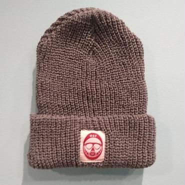 DSF LOGO knit gray