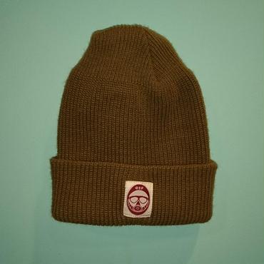 DSF LOGO knit brown