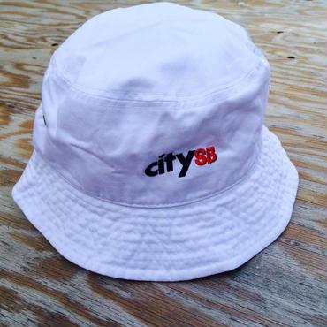 citySBバケットハット/WHITE 春物入荷