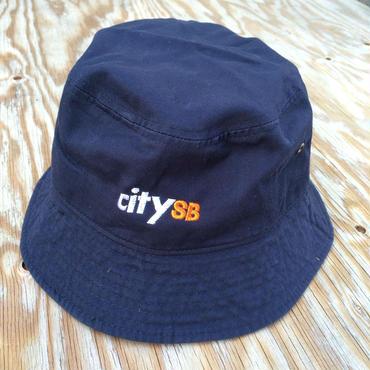 citySB バケットハット/NAVY 春物入荷