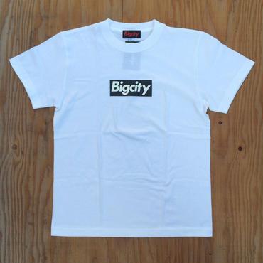 BOX LOGO S/STEE  WHITE BLACK