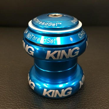 【限定】Chris King No Thred Set 1 1/8  Limited  Turquoise