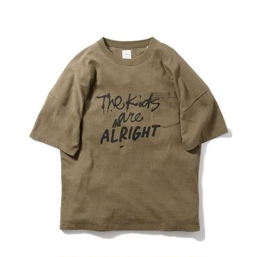 Name. : THE KIDS ARE ALRIGHT OVERSIZED POCKET TEE