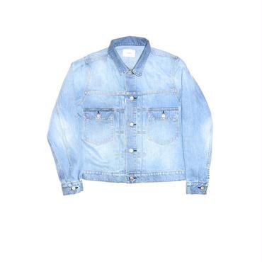 The Letters : 2nd Washed Denim Jacket