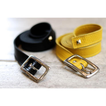 WYATT : MADE BY AKIYAMA LEATHER LONG BELT