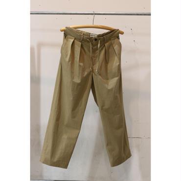 MAINTENANT : C/N WASHER WIDE LONG PANTS