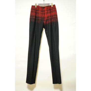 TAAKK : Check-Stripe Trousers