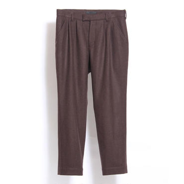 JUHA : FLANO 2TUCK TROUSERS
