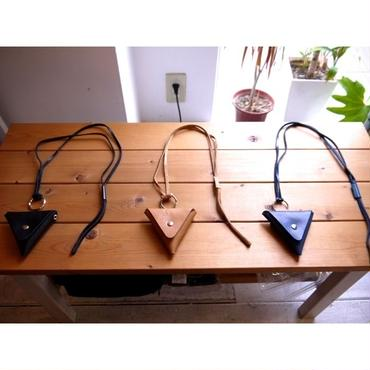 WYATT : MADE BY AKIYAMA LEATHER TRIANGLE COIN PURSE