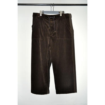 JANE SMITH : CORDUROY BAKER PANTS