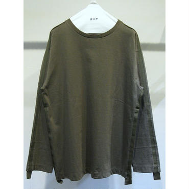 KIIT : GROSGRAIN TAPE LONG SLEEVE T SHIRT