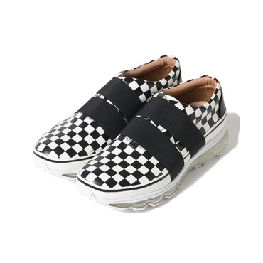 Name. : Name. × Tomo & co  CHECKERED SNEAKERS