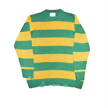 The Letters : 5G Crash Crew Neck Knit