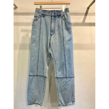 KIIT : 12OZ DENIM EASY NARROW PANTS