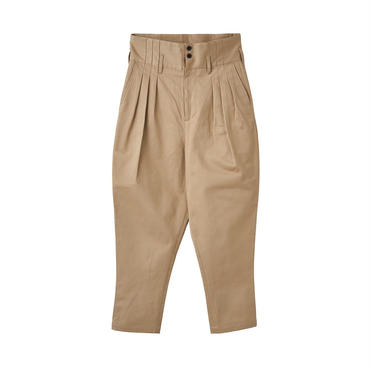 JUHA : HIGH WAIST TUCK PANTS