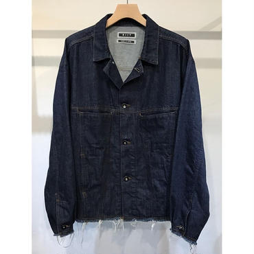 KIIT : 11.5oz DENIM LOOSE BLOUSON