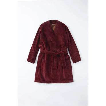 fit MIHARA YASUHIRO : Slant Corduroy Long Coat