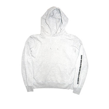The Letters : Burn Out Crash Hooded Sweat
