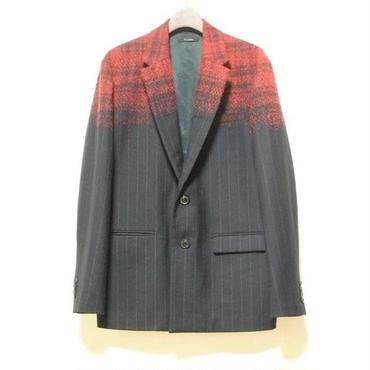 TAAKK : Check-Stripe Jacket