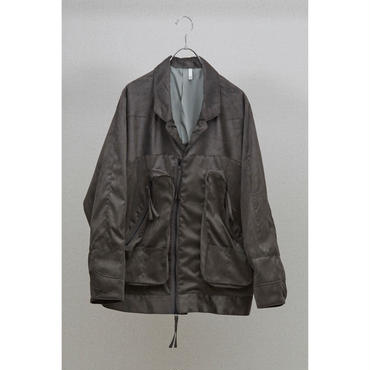 HUMIS : DEFORMATION MILITARY DOLMANSLEEVE BLOUSON