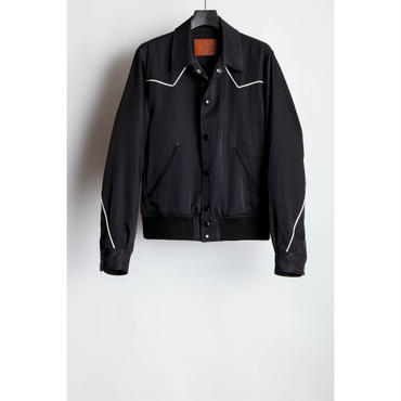 The Letters : Western Sport Jacket -Rayon Cotton Twill -