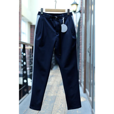 WYATT SUPER SAFIA SIDE ZIP TAPERED LINE TROUSERS