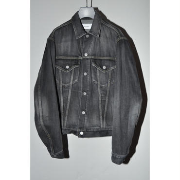 JOHN MASON SMITH : DENIM TRUCKER JACKET