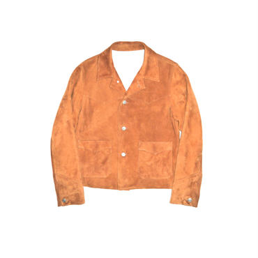 The Letters : Western Leather Short Jacket