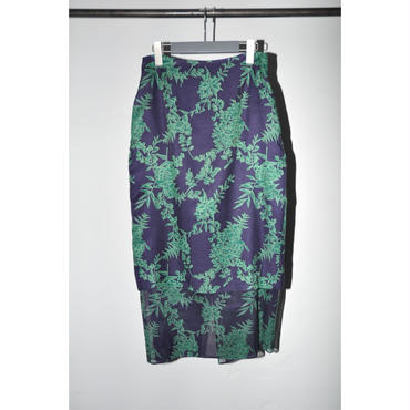 JANE SMITH : FAKE LAYER SKIRT