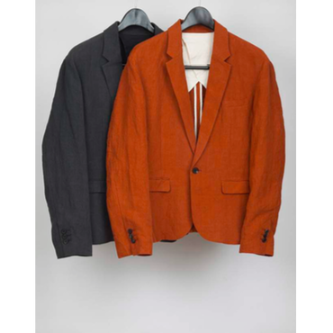 MAINTENANT : NATURAL DYED 1BUTTON TAILORED JACKET