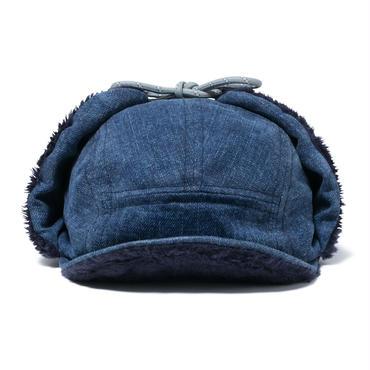 hobo : Japanese Denim 13.5oz Boa Cap