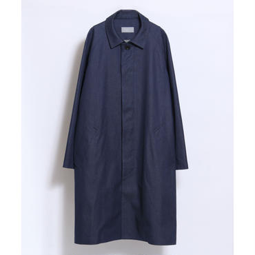 juha : SOUTIEN COLLAR COAT(DENIM)
