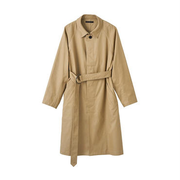 JUHA : SINGLE BREASTED TRENCHCOAT