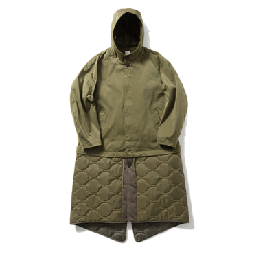 Name. : RUBBER SMOOTH HOODED COAT