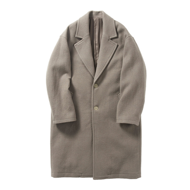 Name. : WASHED MELTON CHESTERFIELD COAT