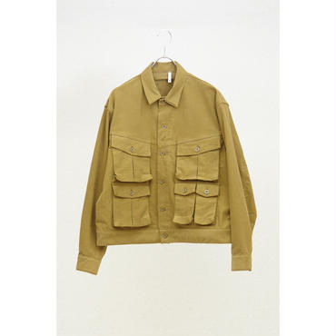 HUMIS : TRANSFORMED MILITARY BLOUSON