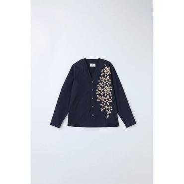 fit MIHARA YASUHIRO : Embroidered Cardigan Shirt