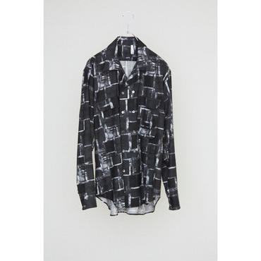 HUMIS : DEFORMATION OPENCOLLAR 3PK DOUBLE SHIRT