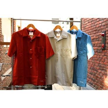 S.i.m : Open Collar S/S Shirt