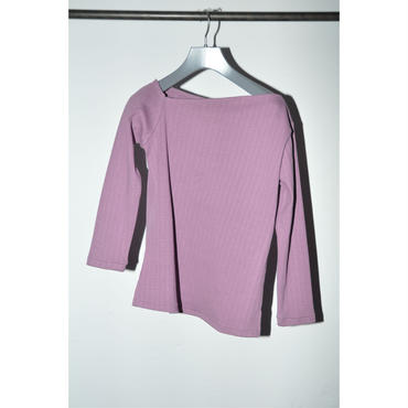 JANE SMITH : HALF SHOULDER RIB TOPS