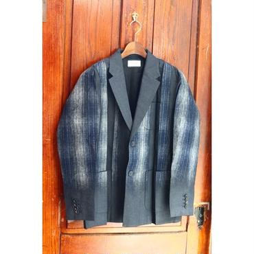 TAAKK : TEAR OFF CHECK JACKET