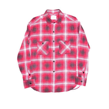 The Letters :Flannel Check Standard Shirt