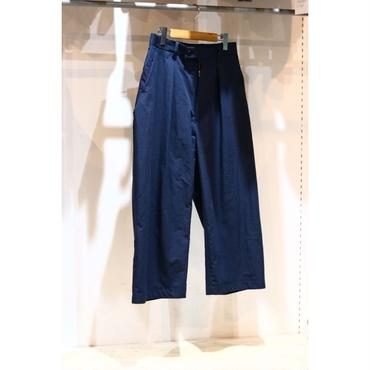MAINU : SIDE DIRTS POCKET WIDE PANTS