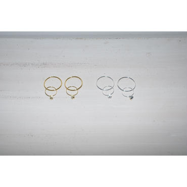 JANE SMITH : MAGNET 2WAY CIRCLE EARRING