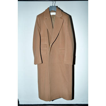 JANE SMITH : FLY FRONT CHESTERFIELD COAT